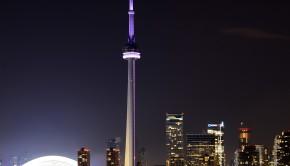Toronto-CN-Tower-At-Night-Wallpaper